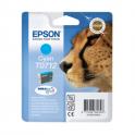 Cartouche d'encre originale  -  EPSON T0712  -  cyan  -  (C13T07124011)