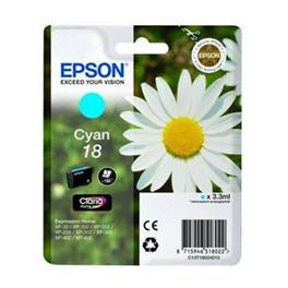 Cartouche d'encre originale - EPSON 18 - cyan - (C13T18024012)