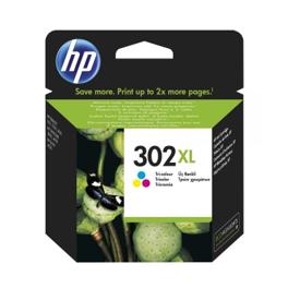 Cartouche d'encre originale - HP 302XL - couleur - (F6U67AE) - grande capacité