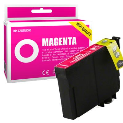 Cartouche d'encre compatible - EPSON 18XL - magenta - (C13T18134010) - grande capacité