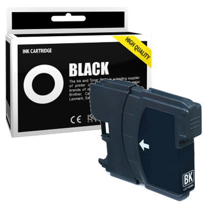 Cartouche d'encre compatible - BROTHER LC980 - noir - (LC980-BK)