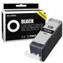 Cartouche d'encre compatible  -  CANON 520 PGBK/PGI520BK  -  noir  -  (2932B001)