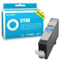 Cartouche d'encre compatible  -  CANON 521 C/CLI521C  -  cyan  -  (2934B001)
