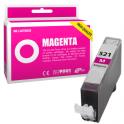 Cartouche d'encre compatible  -  CANON 521 M/CLI521M  -  magenta  -  (2935B001)