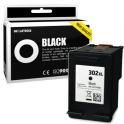 Cartouche d'encre compatible  -  HP 302XL  -  noir  -  (F6U68AE)  -  grande capacité