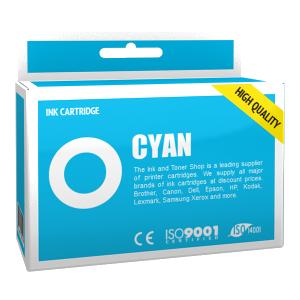 Cartouche d'encre compatible - CANON 6/BCI6C - cyan - (4706A002)