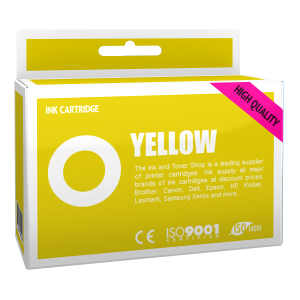 Cartouche d'encre compatible - CANON 6/BCI6Y - jaune - (4708A002)