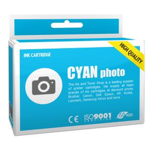 Cartouche d'encre compatible - CANON 6/BCI6PC - cyan photo - (4709A002)