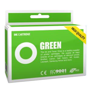 Cartouche d'encre compatible - CANON 6/BCI6G - vert - (9473A002)