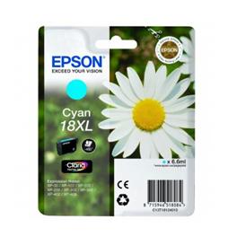 Cartouche d'encre originale - EPSON 18XL - cyan - (C13T18124012) - grande capacité