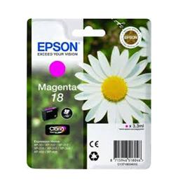 Cartouche d'encre originale - EPSON 18 - magenta - (C13T18034012)