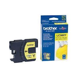Cartouche d'encre originale - BROTHER LC980 - jaune - (LC980-Y)