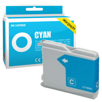 Cartouche d'encre compatible - BROTHER LC970 - cyan - (LC970-C)