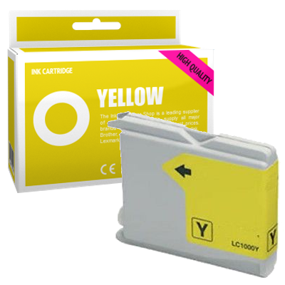 Cartouche d'encre compatible - BROTHER LC970 - jaune - (LC970-Y)