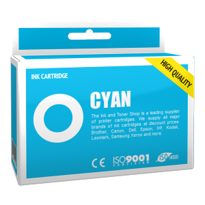 Cartouche d'encre compatible - BROTHER LC985C - cyan - (LC985-C)