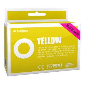 Cartouche d'encre compatible - BROTHER LC985Y - jaune - (LC985-Y)