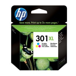 Cartouche d'encre originale - HP 301XL - couleur - (CH564EE) - grande capacité